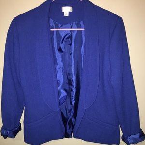 M Royal Blue Blazer